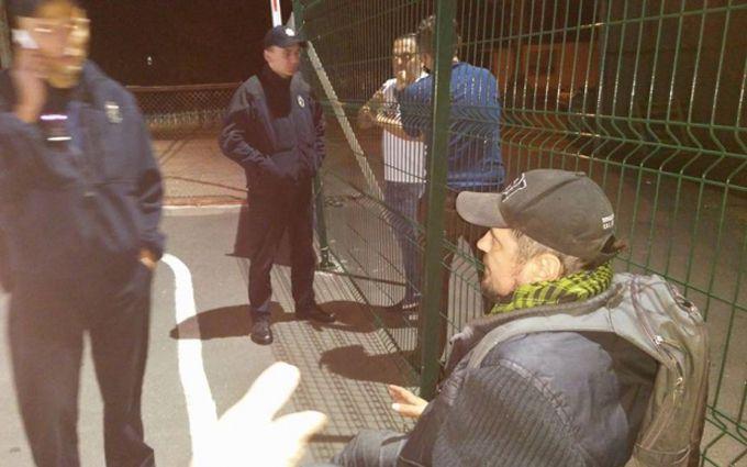 Напад на відомого письменника в Києві: з'явилося нове відео