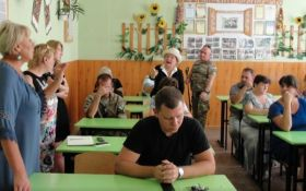 В школе освобожденного города на Донбассе произошел сепаратистский скандал