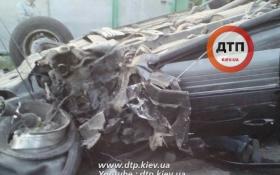 Под Киевом пьяный на Lexus чуть не сбил детей: опубликованы фото