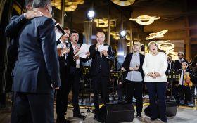 Меркель заспівала свою улюблену пісню: опубліковано відео