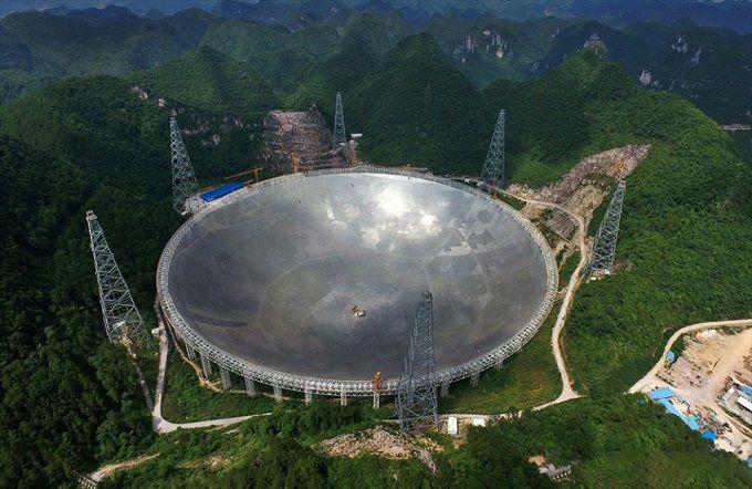 Китай вразив весь світ гігантським телескопом: опубліковані фото