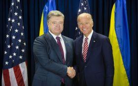 Порошенко поспілкувався з Байденом про гроші і Донбас: фото зустрічі повеселило соцмережі