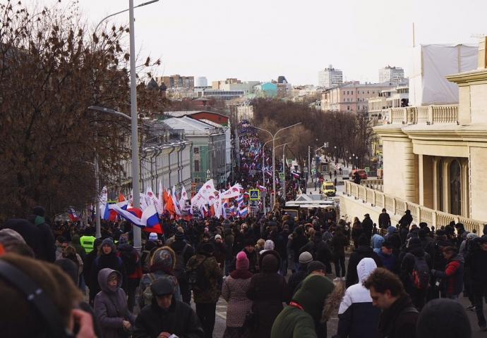 В Москве прямо высказались за Россию без Путина: появились фото и видео (2)