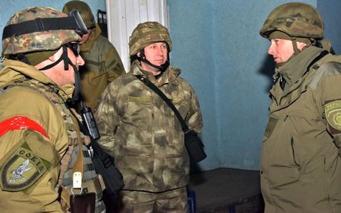 На Донбассе погиб украинский военный: карта АТО
