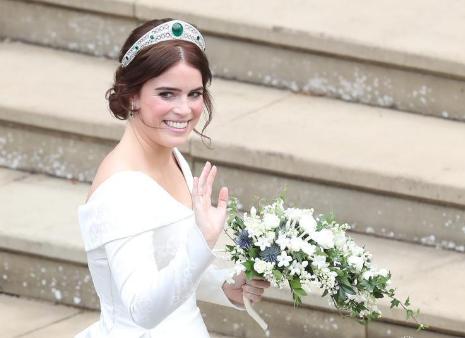 Онучка королеви Єлизавети ІІ вийшла заміж - найяскравіші фото (1)