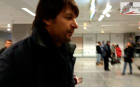"Легенда ""Динамо"" убежал от полиции в аэропорту ""Борисполь"": опубликовано видео"