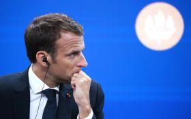 Макрон звинуватив Росію у втручанні в кризу у Франції: в Москві обурені