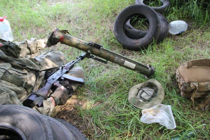 Українцям показали російську зброю, захоплену у бойовиків: опубліковані фото (1)