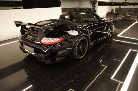 Кабріолет Porsche 997 Turbo від TechArt (8 фото) (7)