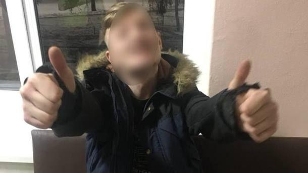 Похитителя скорой приостановил сугроб— Погоня под Киевом