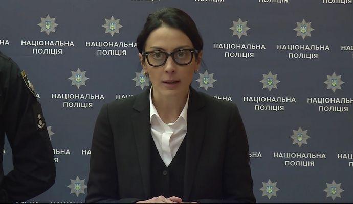 Деканоидзе рассказала о происшествии с участием полицейских в Киеве (видео)