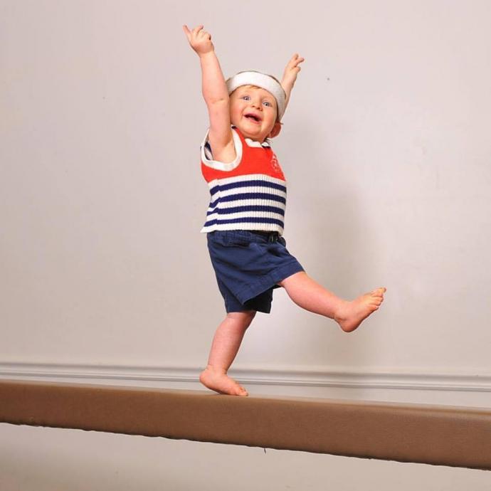 Как стать олимпийским чемпионом, когда тебе всего год: забавные фото (1)