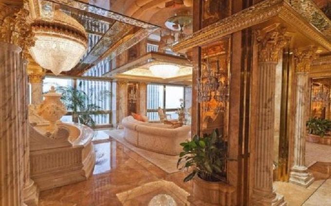 В соцсетях квартиру Трампа сравнили с жильем Кадырова: опубликовано фото