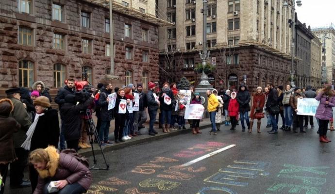 Киевляне требуют и дальше перекрывать Крещатик на выходные: опубликованы фото