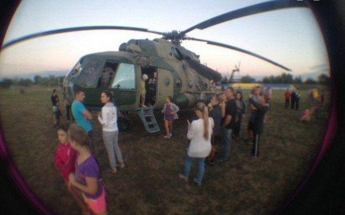 У Запорізькій області сталася надзвичайна подія з військовим гвинтокрилом: з'явилися фото і відео