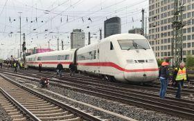 В Германии произошла авария со скоростным поездом: появились фото
