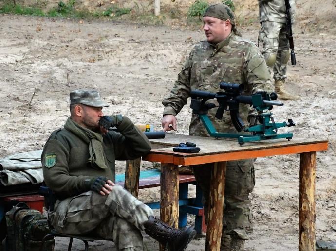 Нехай російські війська вже лізуть, розберемося по ходу - комбат Української добровольчої армії (2)