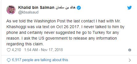 Кто приказал убить саудовского журналиста Хашогги: ЦРУ установило убийцу (1)