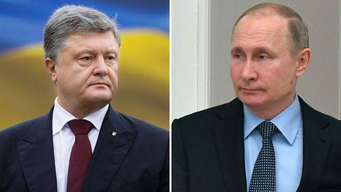 В РФ рассказали о беседе Путина с Порошенко