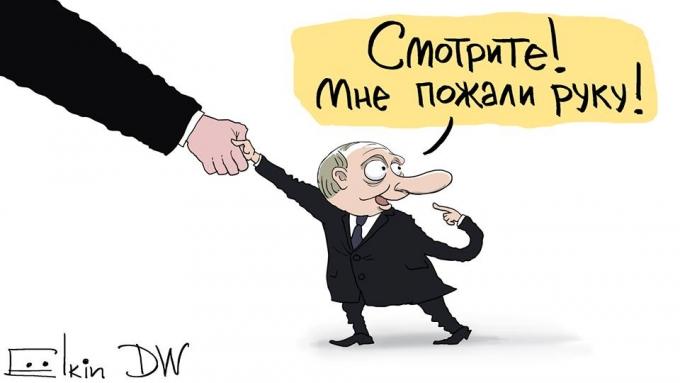 И пусть весь мир подождет: Путина в Париже высмеяли в серии едких карикатур (3)