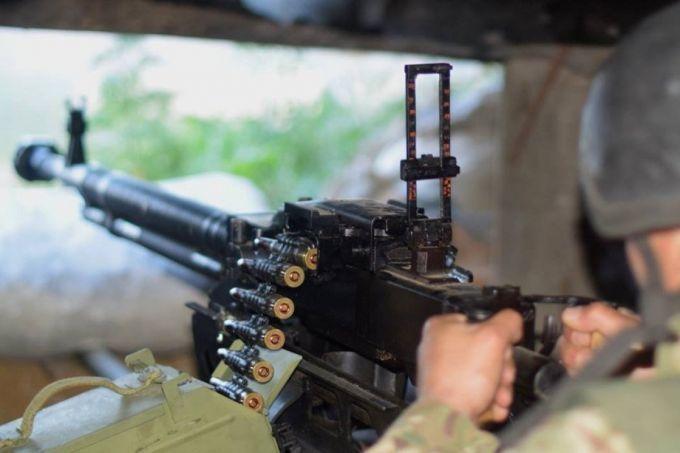 На ділянці розведення з'явилися невідомі бойовики - штаб ООС