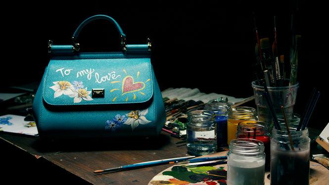 Sicily Bag: в Киеве на 8 марта художник из Италии разрисует сумки Dolce & Gabbana (1)