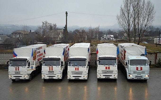 """На Донбасс прибыл юбилейный """"гумконвой"""" оккупантов: опубликовано фото"""