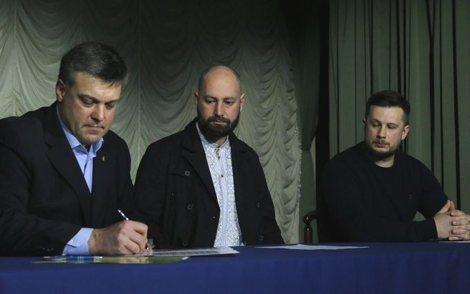 Украинские националисты объявили «крестовый поход» против столицы Украины
