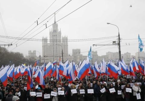 Опозиція проведе мітинг у центрі Москви проти бомбардувань в Сирії
