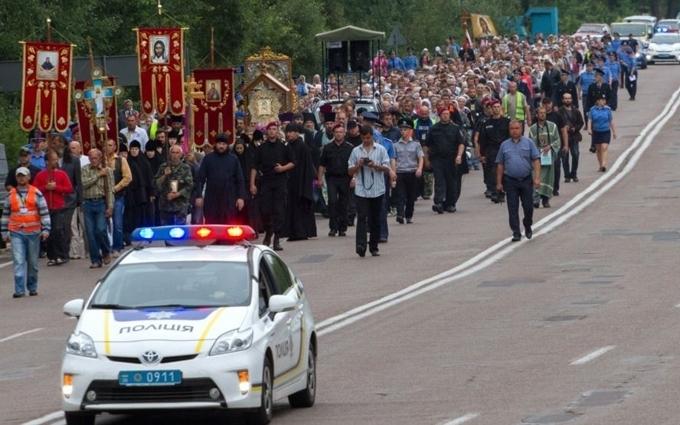 Хресна хода в Києві: ЗМІ Путіна запустили провокаційне відео