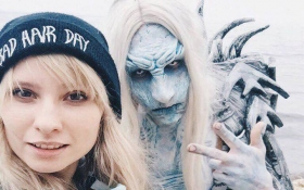 Українка отримала грант в Голлівуді за страшний грим: опубліковані фото і відео