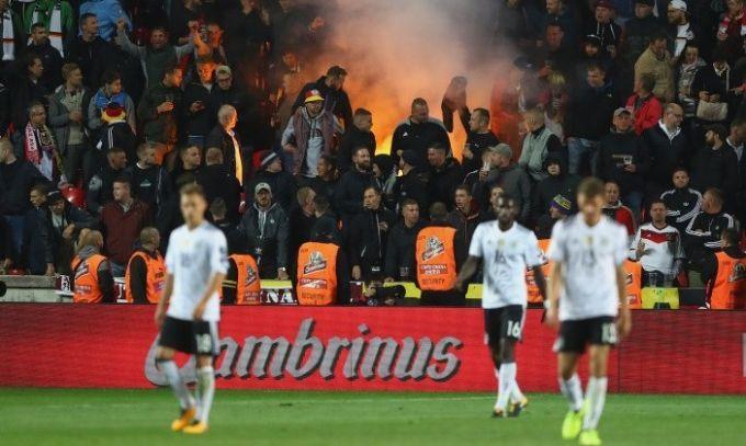 ФИФА открыла дело из-за проявлений нацизма фанатами сборной Германии