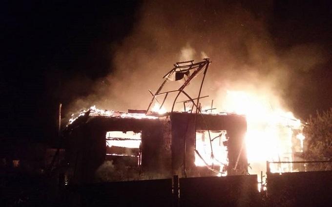 Бойовики ДНР при полюванні за безпілотником ОБСЄ спалили будинок: з'явилися фото
