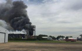 В аэропорту Лондона прозвучал взрыв: появилось видео
