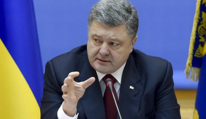 В Украине не гражданская война - Порошенко обратился к Путину