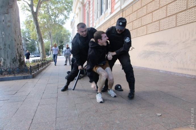 Гей-парад в Одесі не обійшовся без інцидентів: з'явилися фото та відео (1)