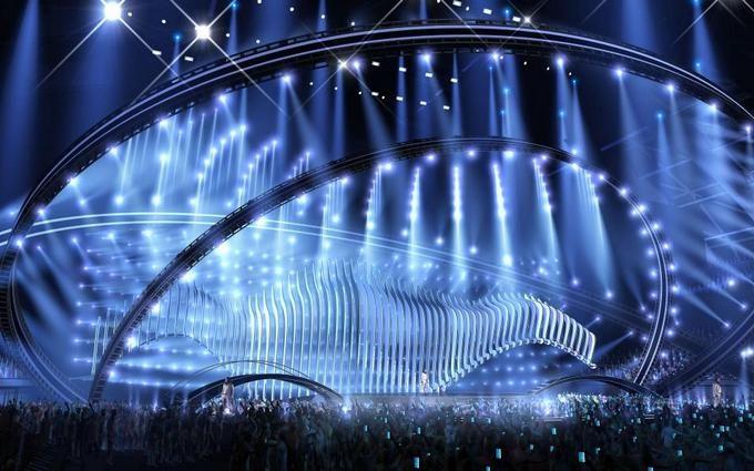 Евровидение-2018: появилось видео с эскизом сцены