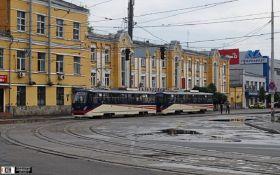 В Киеве произошло серьезное ЧП со скоростным трамваем