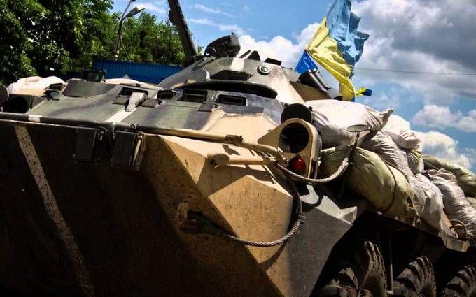 Под Марьинкой умер украинский военный— Штаб АТО