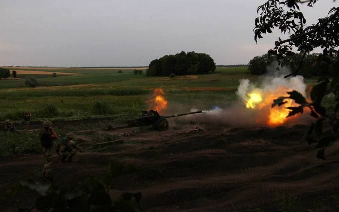 ООС: в результате огня украинских военных боевики понесли серьезные потери