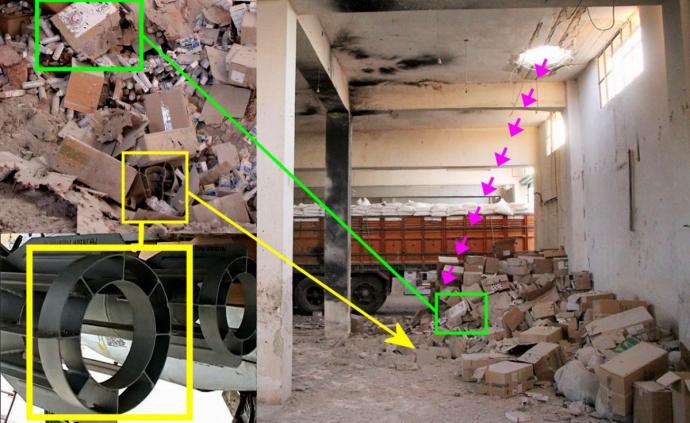Це однозначно: з'явився новий доказ удару Росії по гумконвою в Сирії (1)