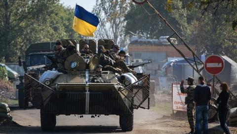 Сили АТО почали відведення мінометів в Луганській області