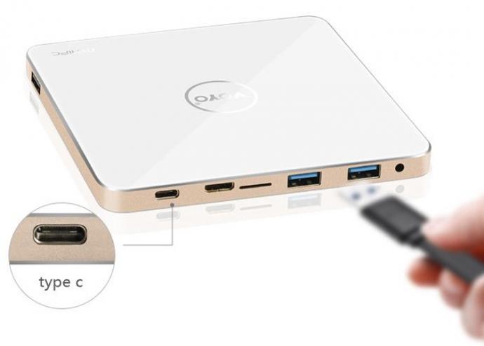 Компания Voyo представила неттоп V3 с процессором Intel Atom x7 и 4 Гбайт ОЗУ (1)