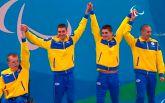 Украинские пловцы одержали фантастическую победу в паралимпийской эстафете: опубликованы фото