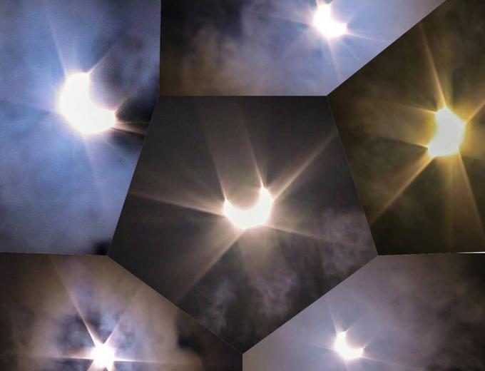 Як пройшло повне сонячне затемнення 2020 року - вражаючі фото вогняного кільця (3)