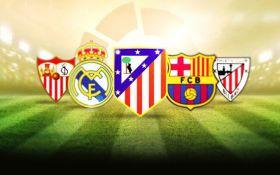 Турнирная таблица чемпионата Испании 2016/17 по футболу