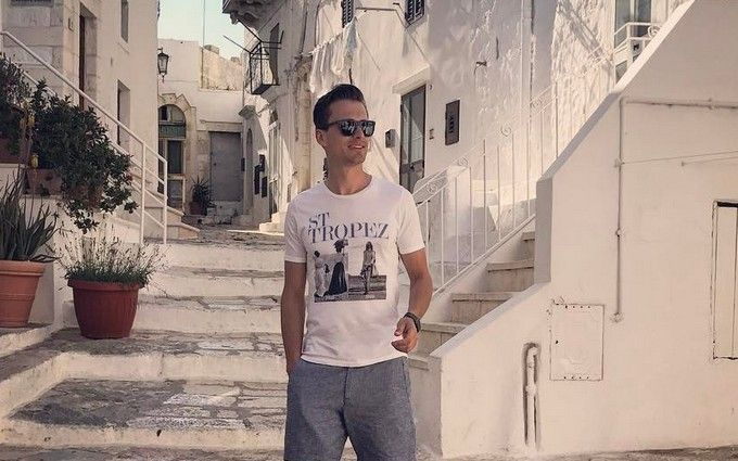 Ведущий Евровидения Александр Скичко похвастался отдыхом в Италии