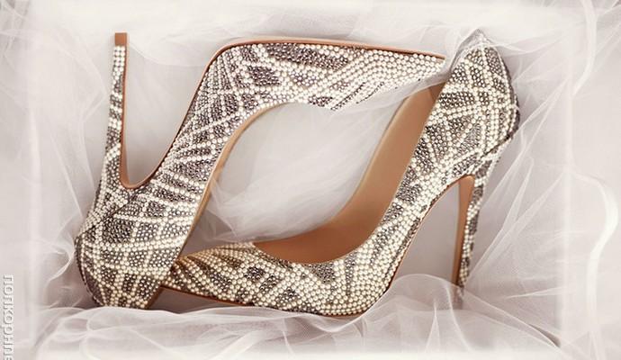 Свадебная коллекция обуви от Jimmy Choo (фото, видео)