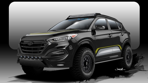 Hyundai і Rockstar Performance Garage підготували для бездоріжжя Tucson