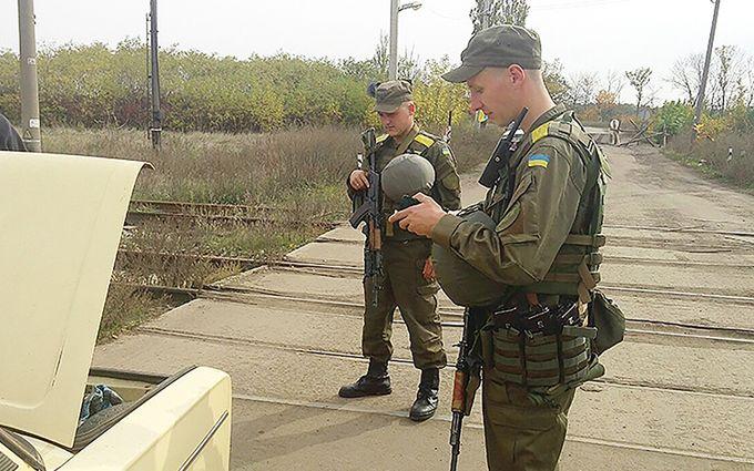 Прикривався дитиною в колисці: Нацгвардія зловила бойовика ДНР